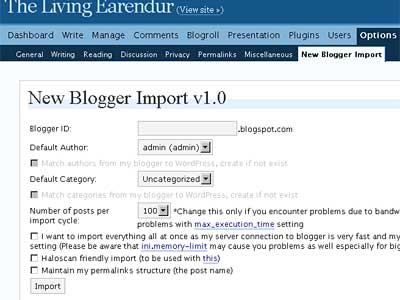 New Blogger Plugins