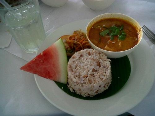 Rice + Panaang Curry