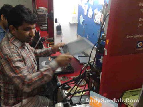 Mr Raj in Action