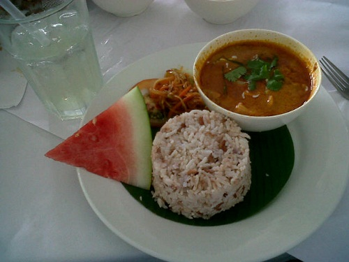 Rice + Panaang Curry